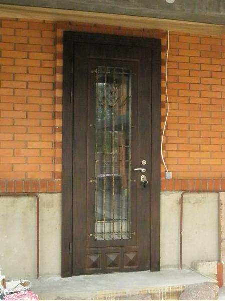 Ремонт дверей входных железных